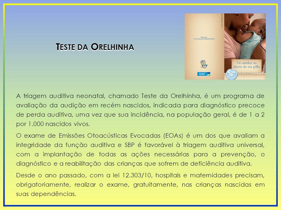 Teste da Orelhinha