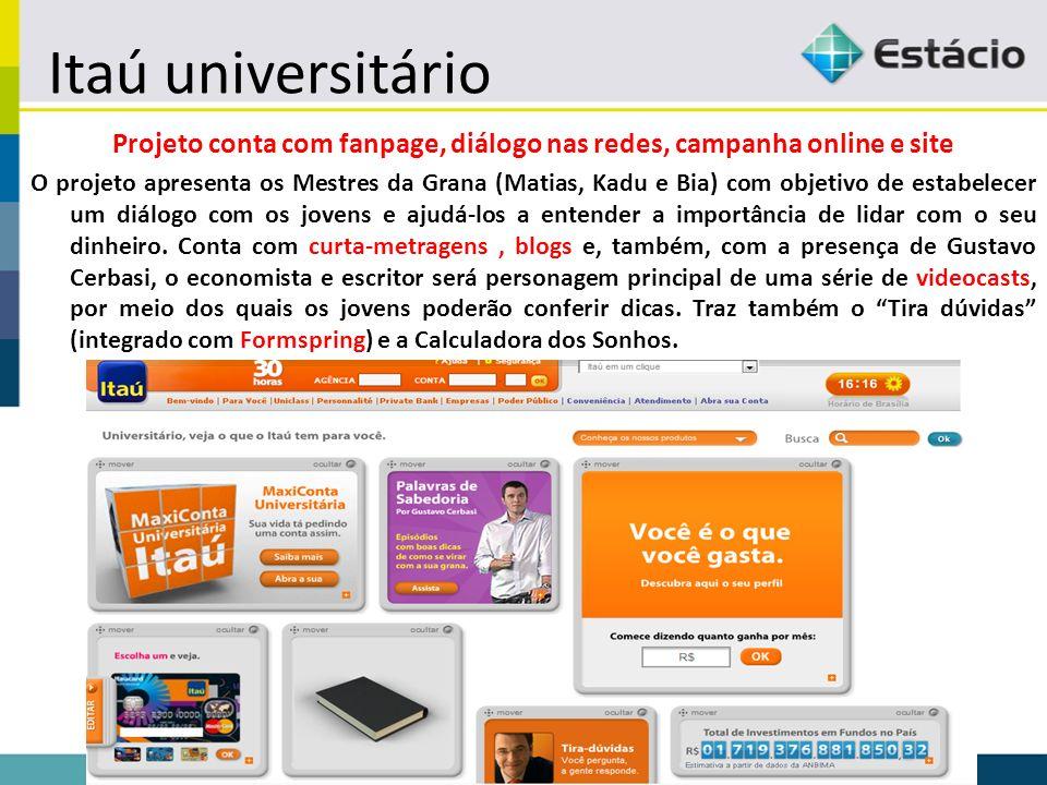 Projeto conta com fanpage, diálogo nas redes, campanha online e site