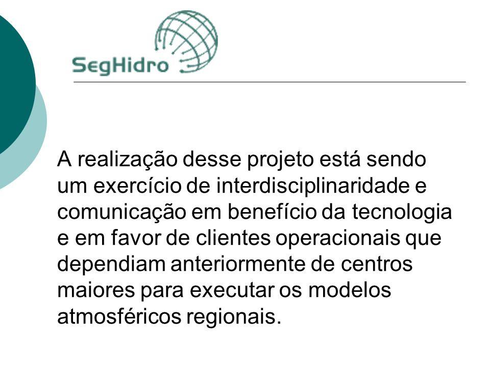 A realização desse projeto está sendo um exercício de interdisciplinaridade e comunicação em benefício da tecnologia e em favor de clientes operacionais que dependiam anteriormente de centros maiores para executar os modelos atmosféricos regionais.