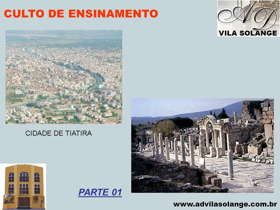 CULTO DE ENSINAMENTO PARTE 01 VILA SOLANGE CIDADE DE TIATIRA