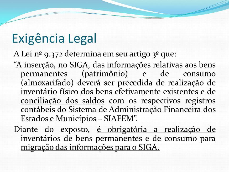 Exigência Legal