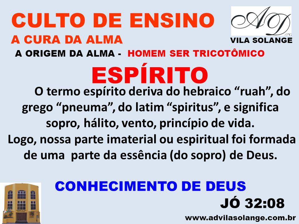 ESPÍRITO CULTO DE ENSINO