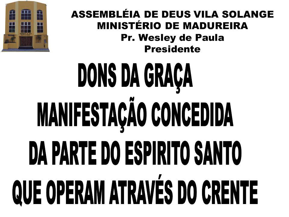 MANIFESTAÇÃO CONCEDIDA DA PARTE DO ESPIRITO SANTO