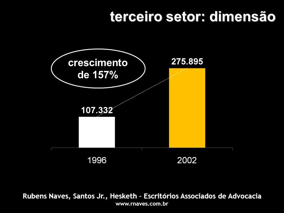 terceiro setor: dimensão