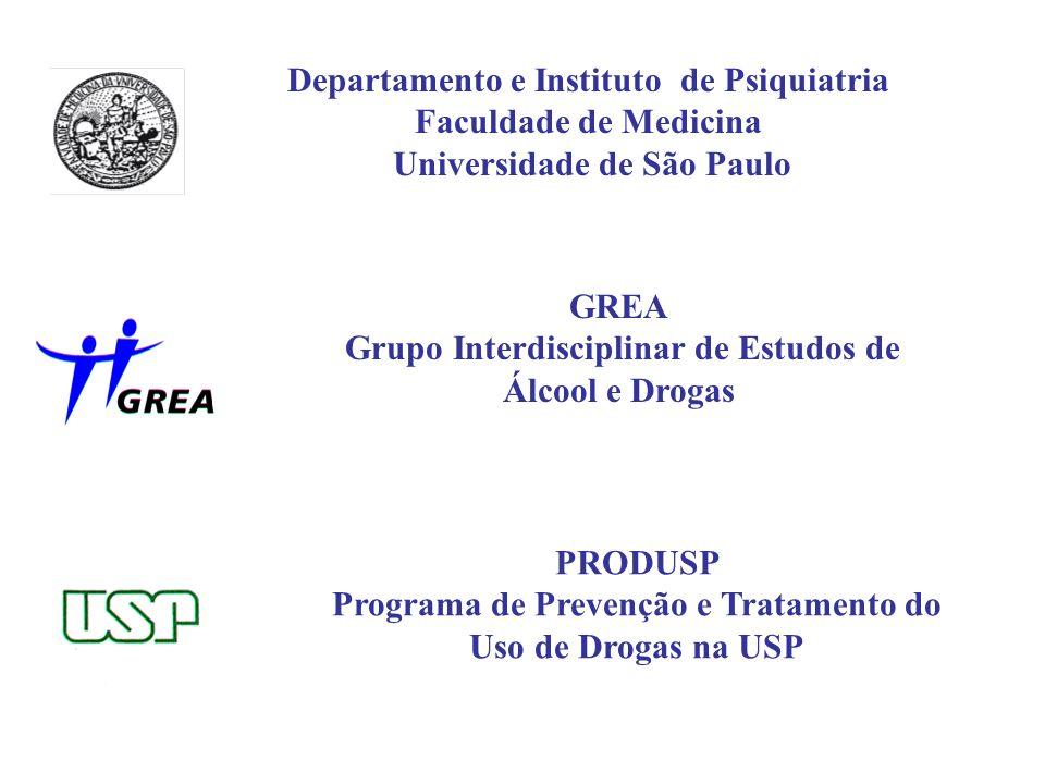 Departamento e Instituto de Psiquiatria Faculdade de Medicina