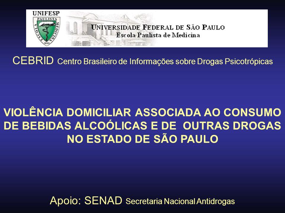 CEBRID Centro Brasileiro de Informações sobre Drogas Psicotrópicas