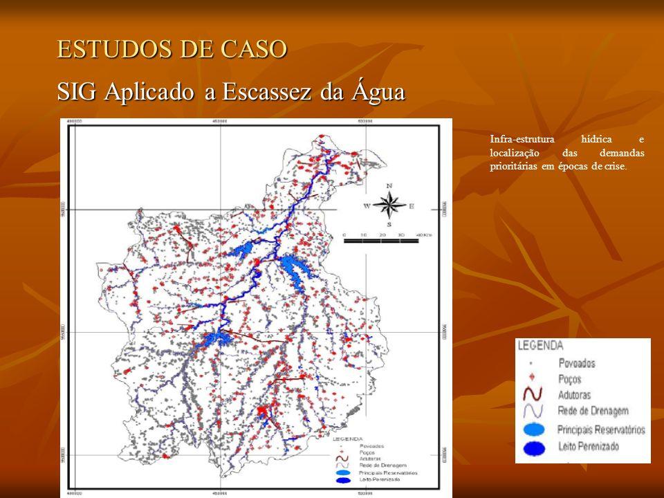 SIG Aplicado a Escassez da Água