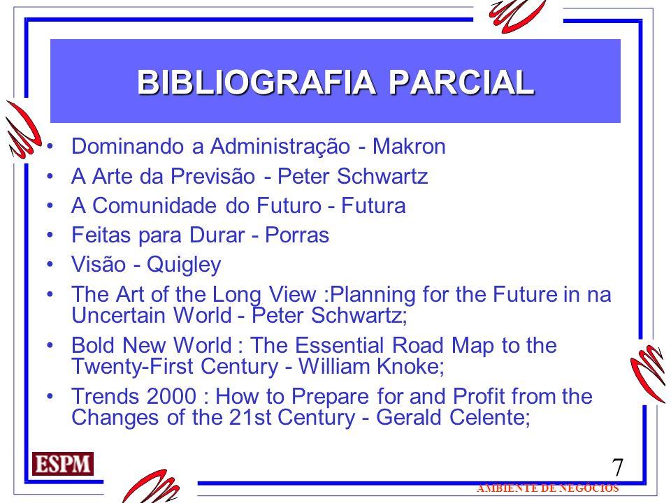 BIBLIOGRAFIA PARCIAL Dominando a Administração - Makron