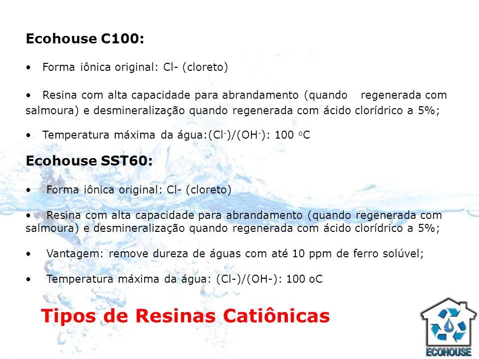Tipos de Resinas Catiônicas
