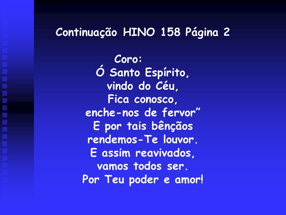Continuação HINO 158 Página 2