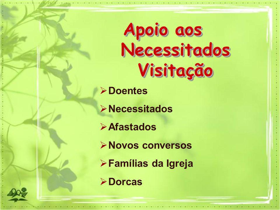 Apoio aos Necessitados Visitação