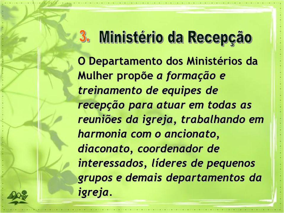 Ministério da Recepção