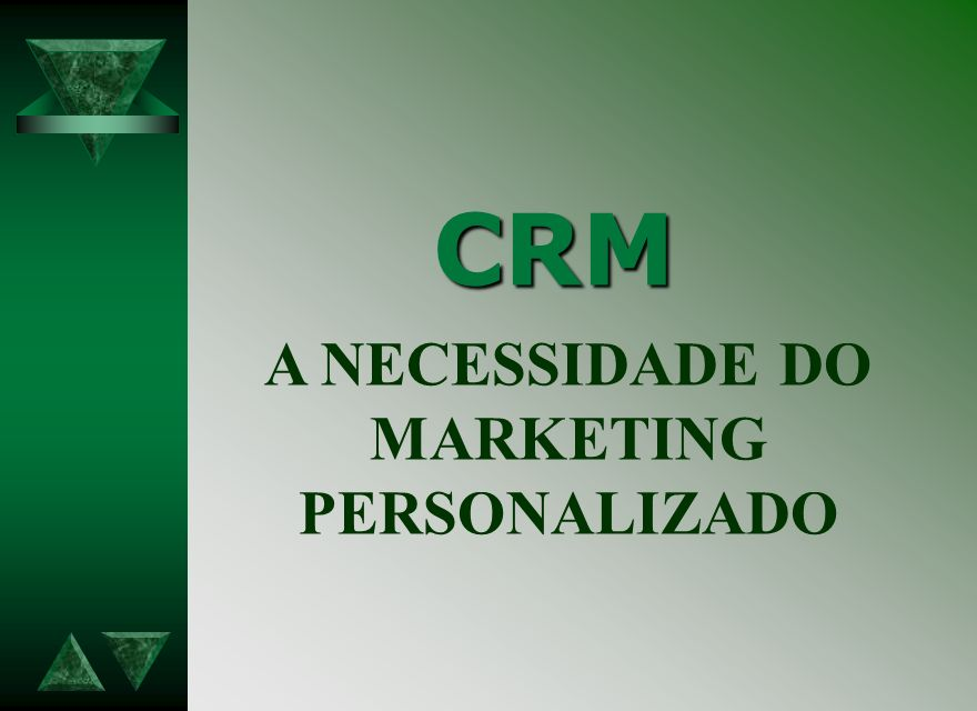 A NECESSIDADE DO MARKETING