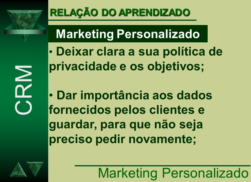 Marketing Personalizado
