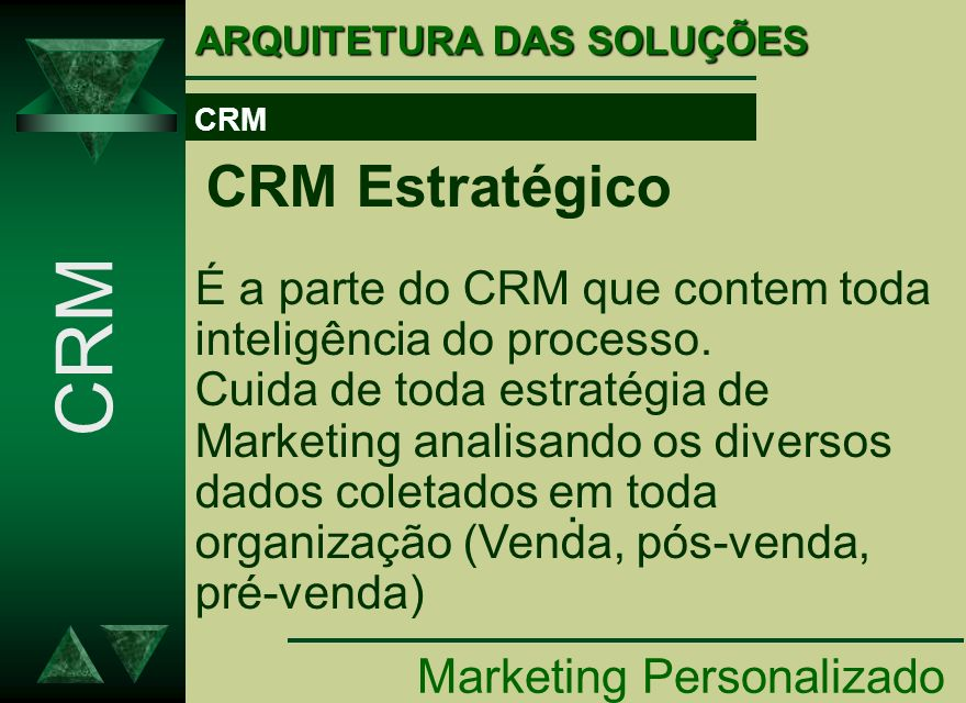 CRM . Marketing Personalizado