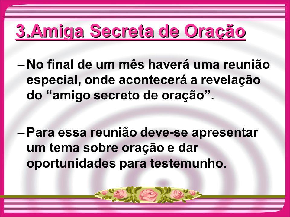 3.Amiga Secreta de Oração