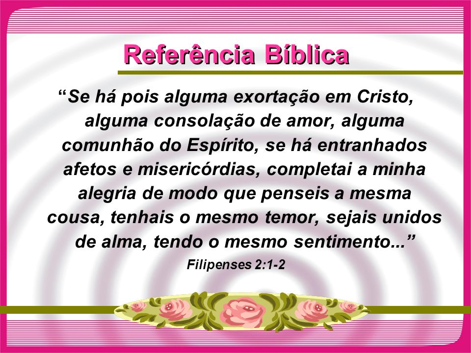 Referência Bíblica