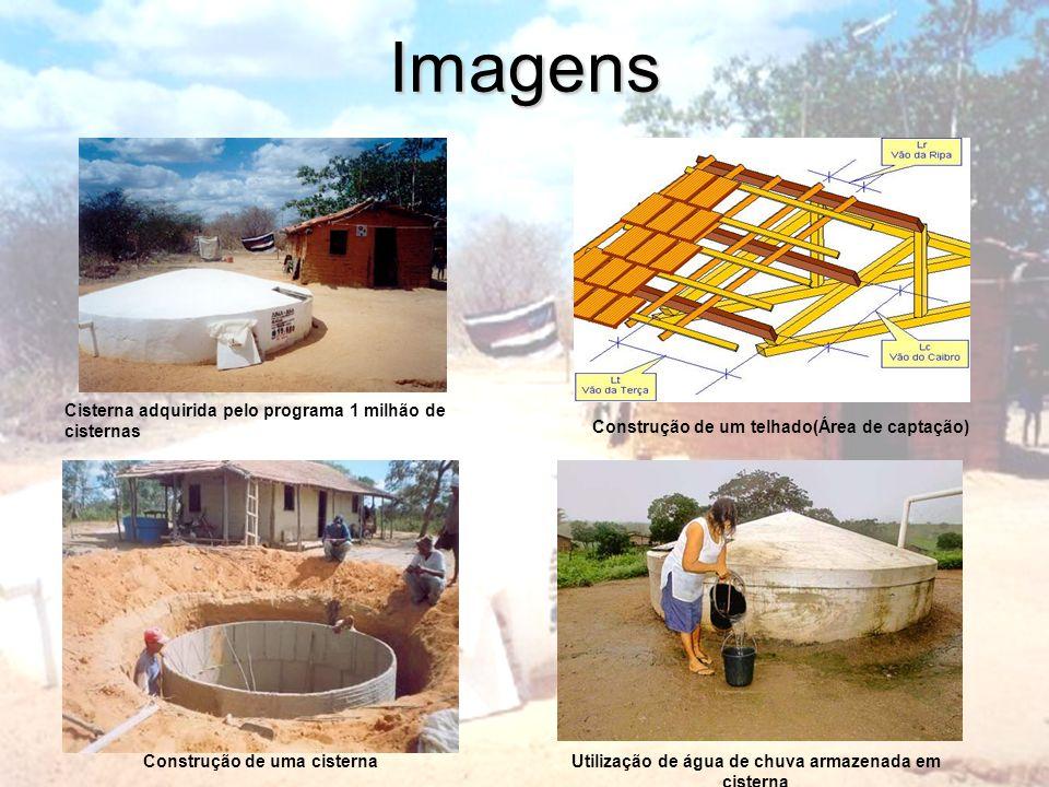 Imagens Cisterna adquirida pelo programa 1 milhão de cisternas
