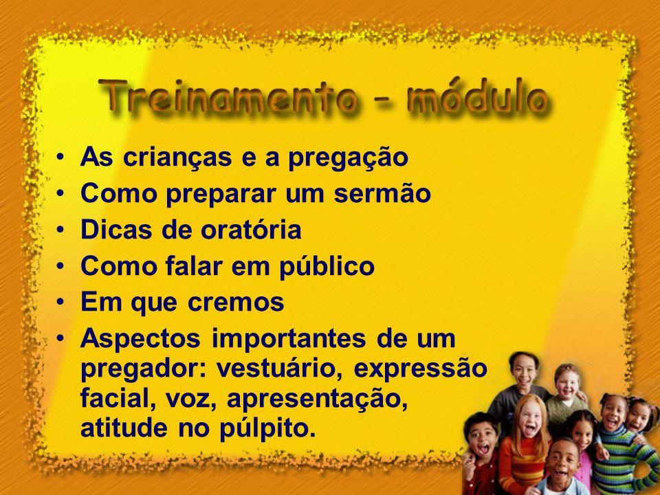 As crianças e a pregação