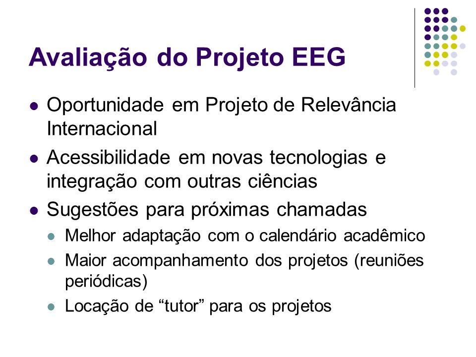Avaliação do Projeto EEG