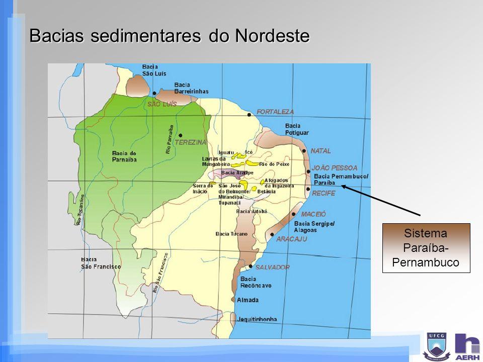 Bacias sedimentares do Nordeste