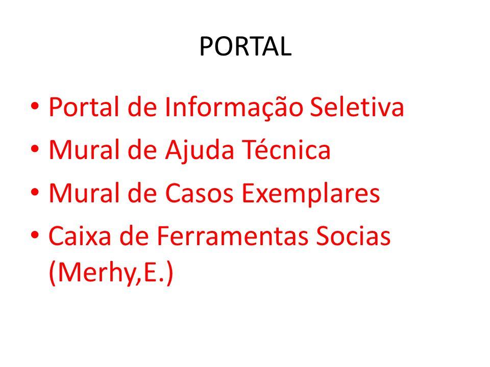 PORTALPortal de Informação Seletiva.Mural de Ajuda Técnica.