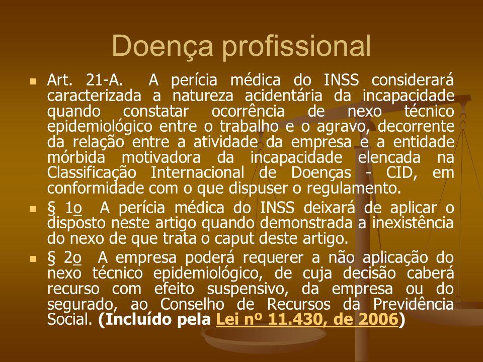 Doença profissional