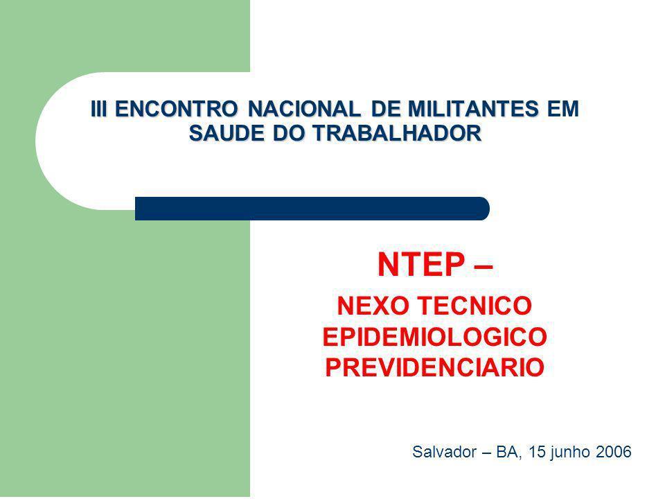 III ENCONTRO NACIONAL DE MILITANTES EM SAUDE DO TRABALHADOR