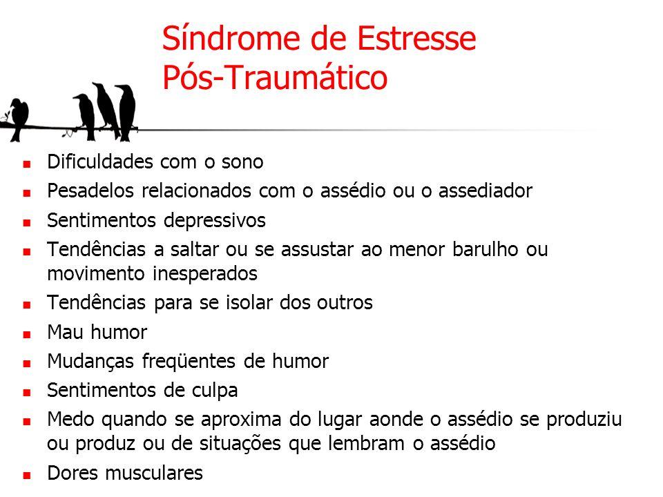 Síndrome de Estresse Pós-Traumático