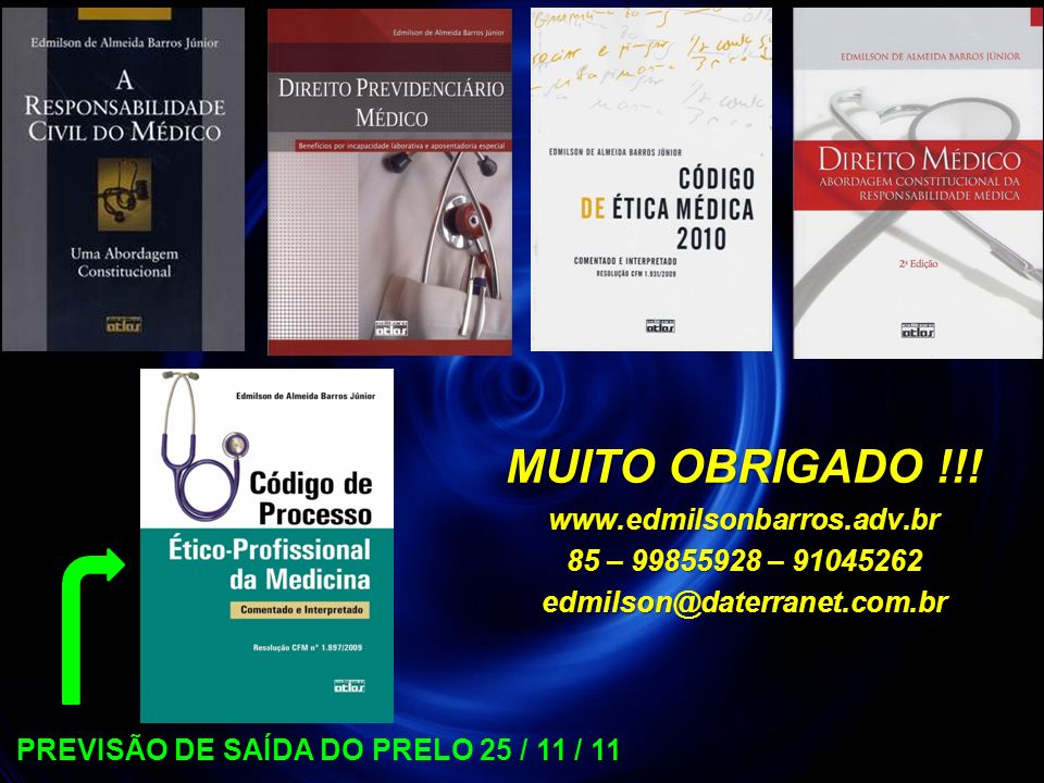 PREVISÃO DE SAÍDA DO PRELO 25 / 11 / 11