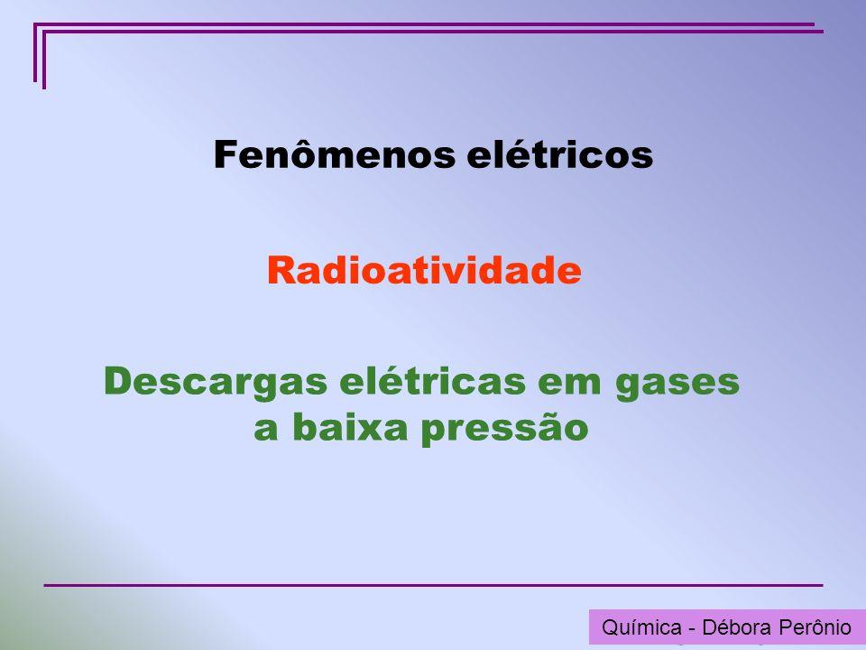 Descargas elétricas em gases a baixa pressão