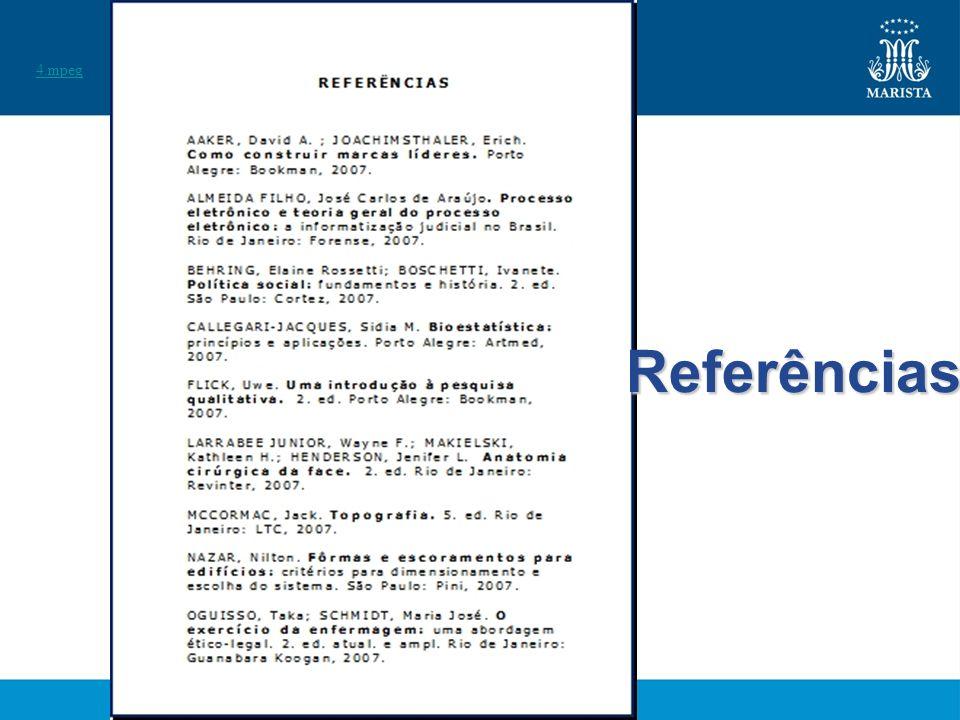 4.mpeg Referências
