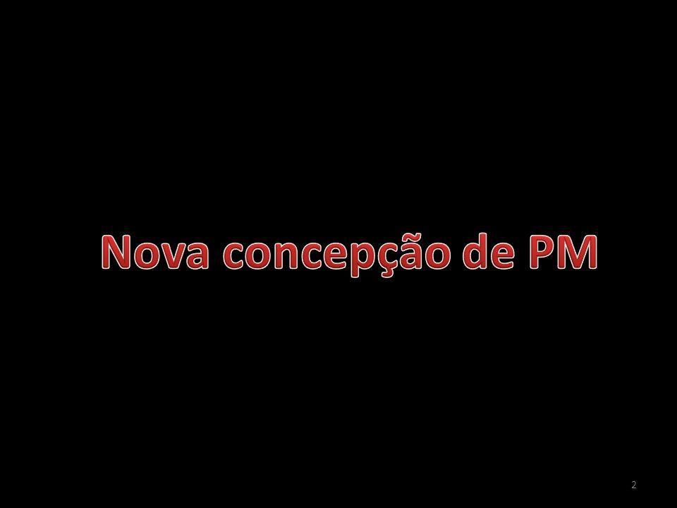Nova concepção de PM