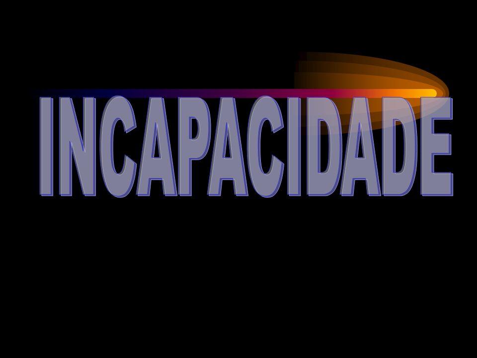 INCAPACIDADE