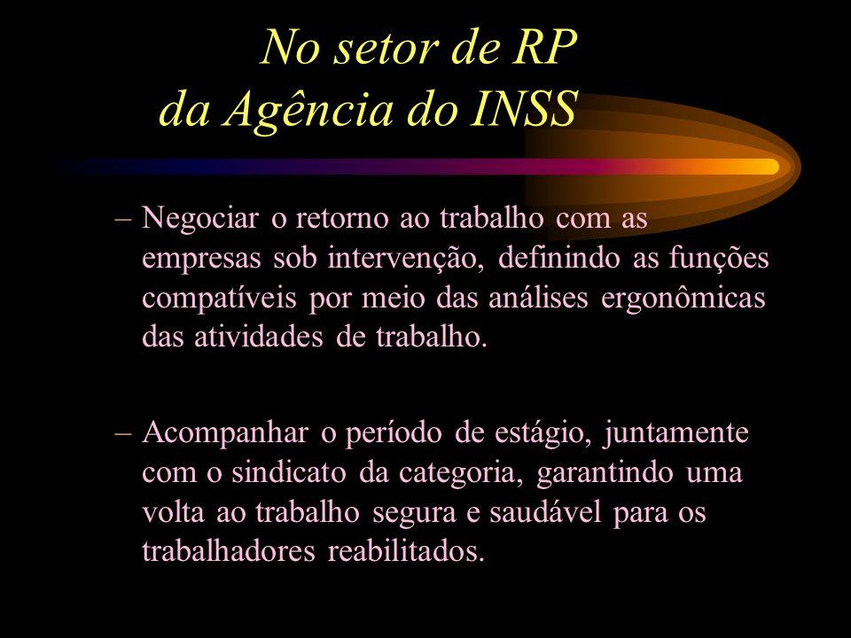 No setor de RP da Agência do INSS