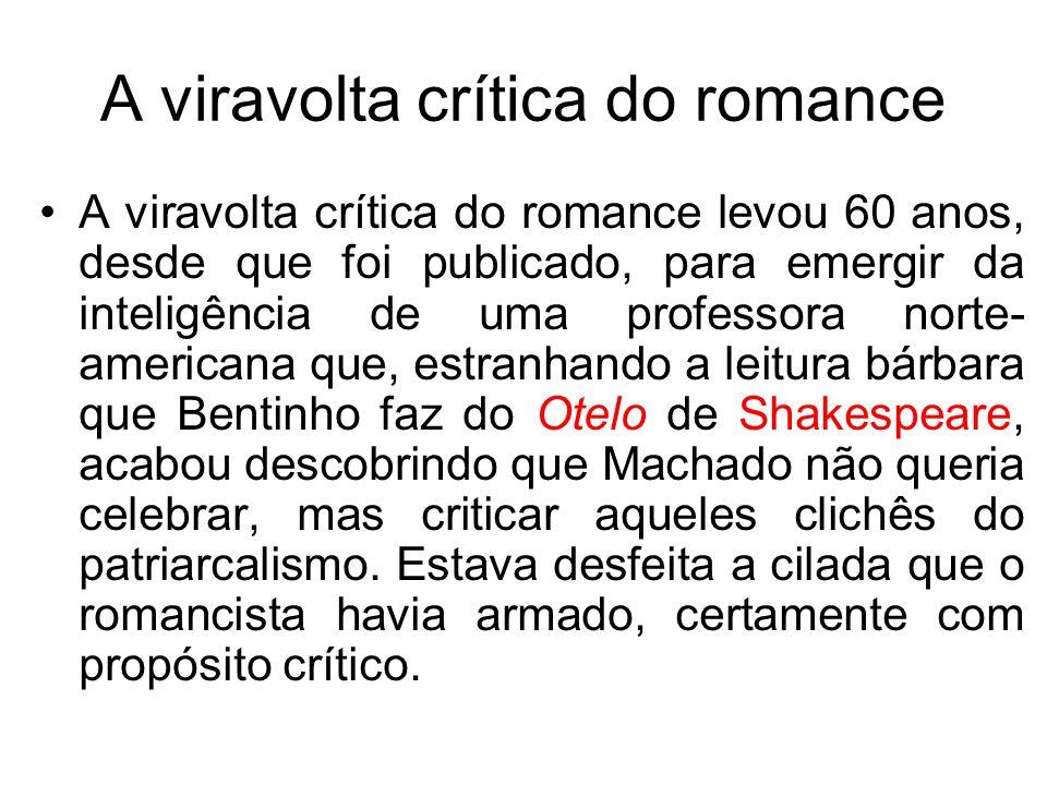 A viravolta crítica do romance