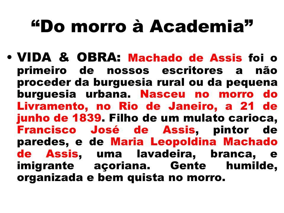 Do morro à Academia