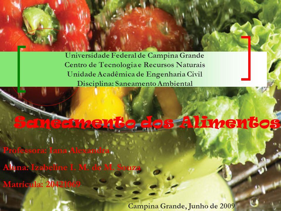 Saneamento dos Alimentos