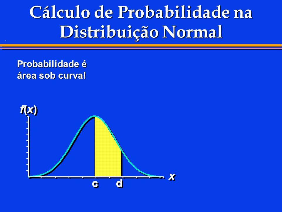Cálculo de Probabilidade na Distribuição Normal