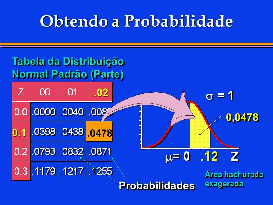 Obtendo a Probabilidade
