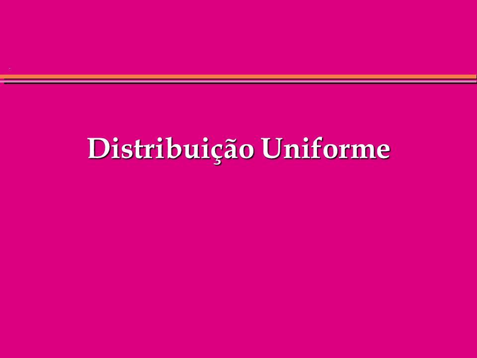 Distribuição Uniforme