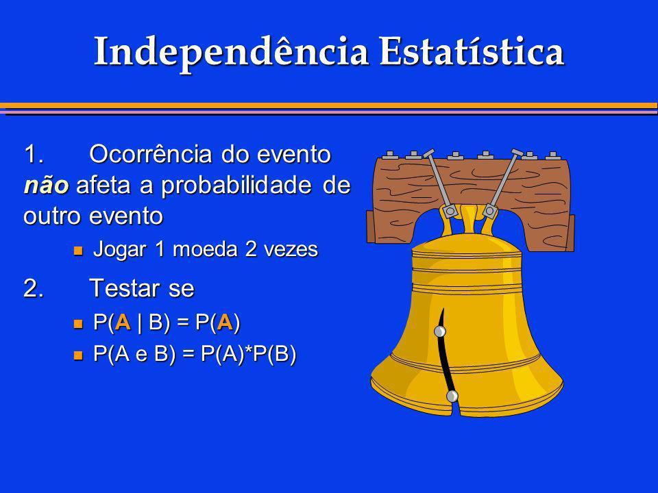 Independência Estatística