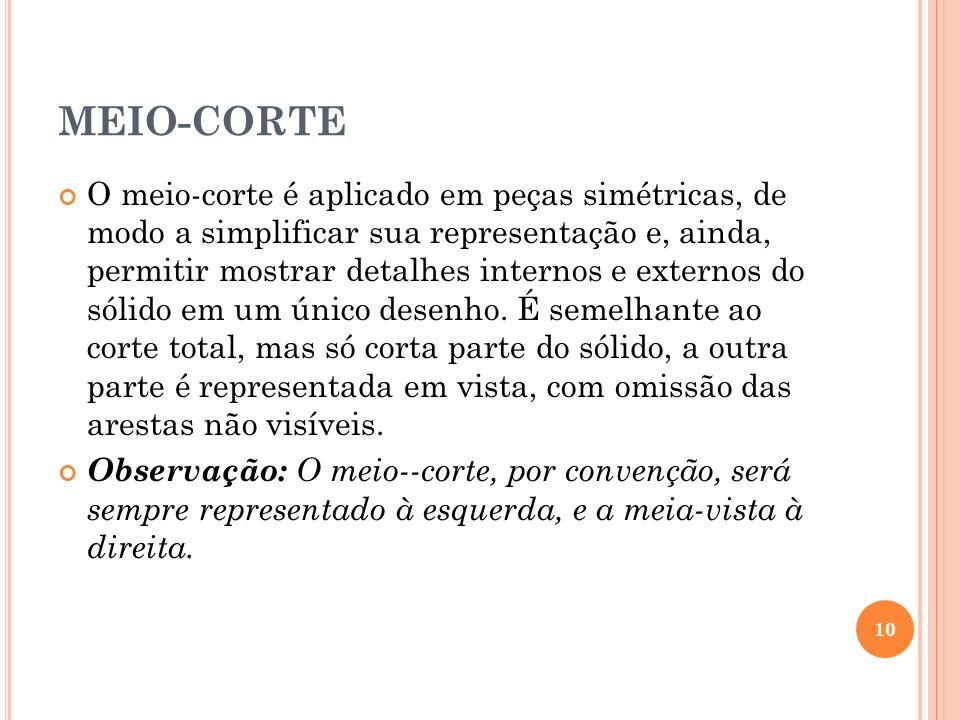 MEIO-CORTE