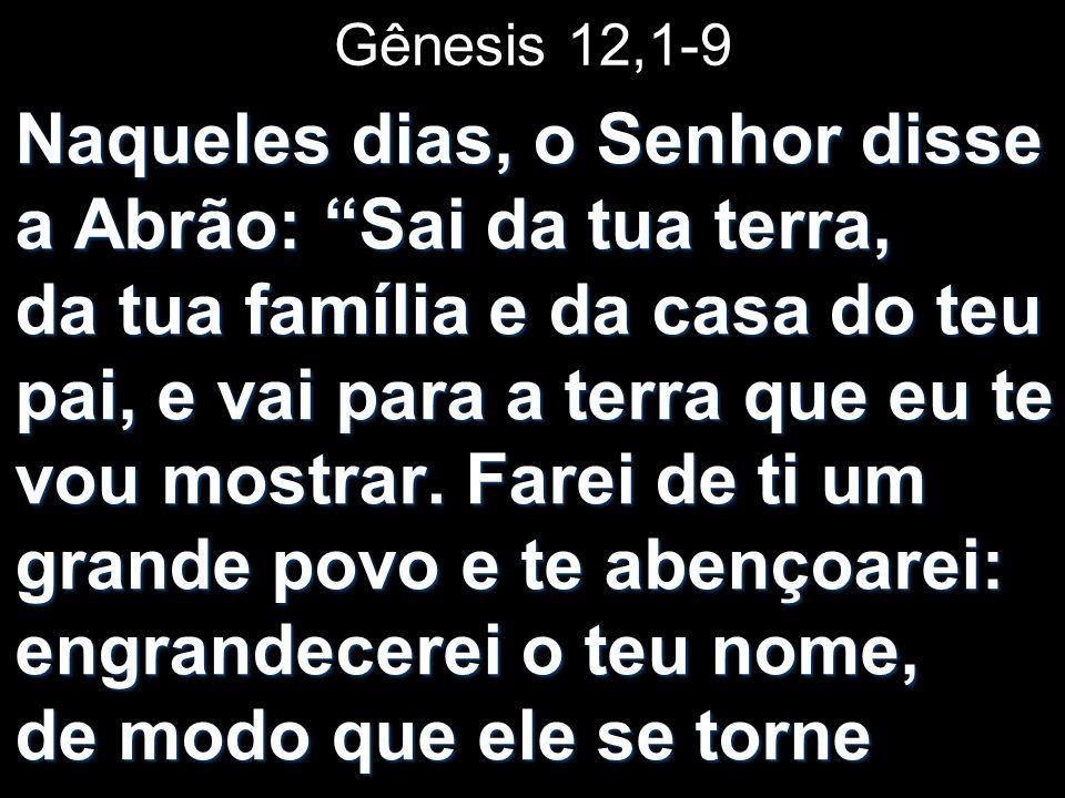 Gênesis 12,1-9