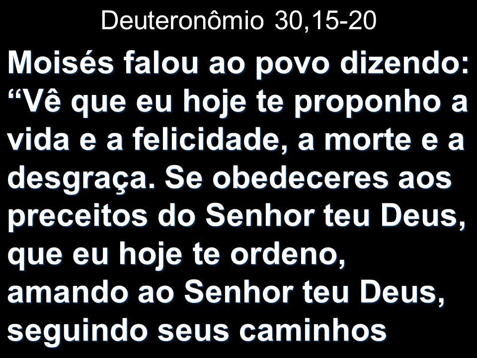 Deuteronômio 30,15-20