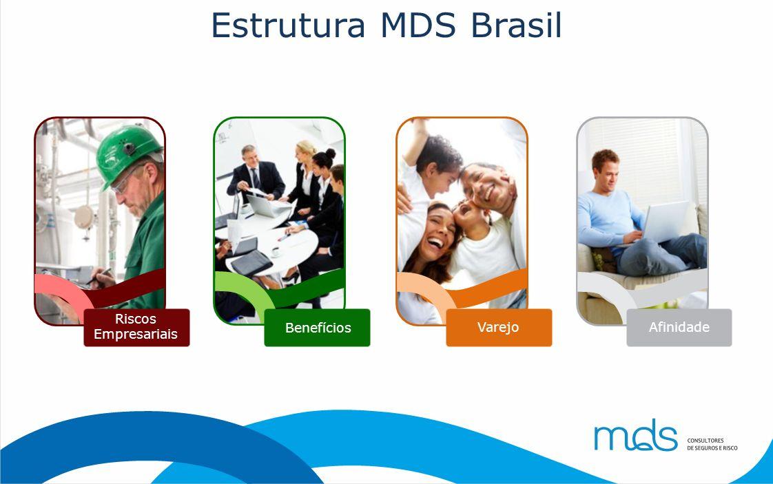 Estrutura MDS Brasil Riscos Empresariais Benefícios Varejo Afinidade
