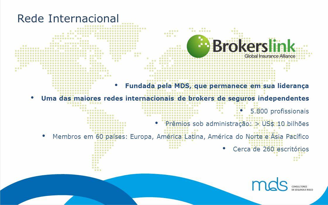 Rede Internacional Fundada pela MDS, que permanece em sua liderança