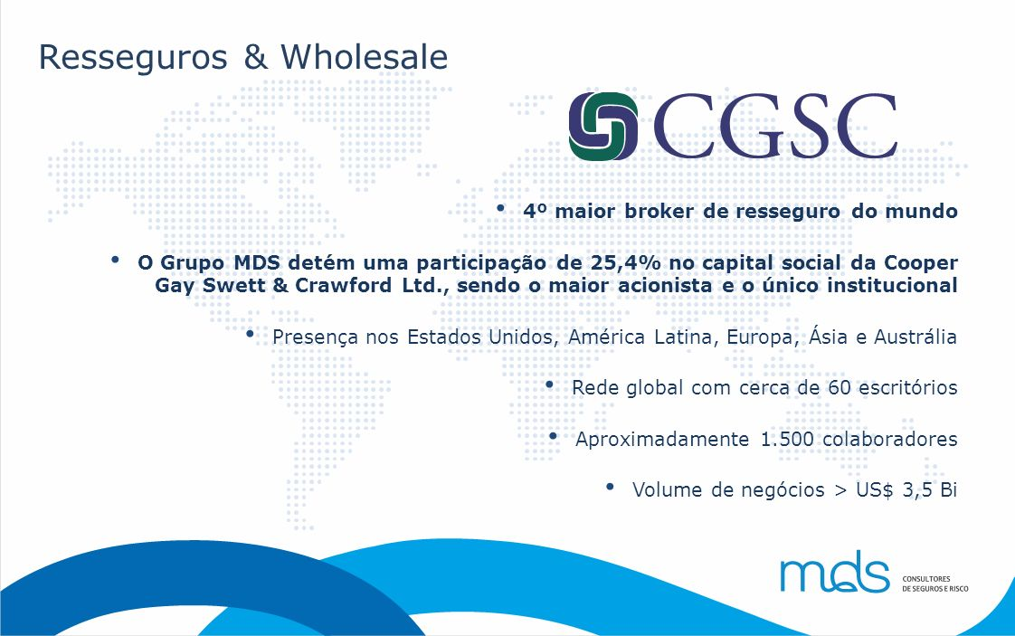 Resseguros & Wholesale