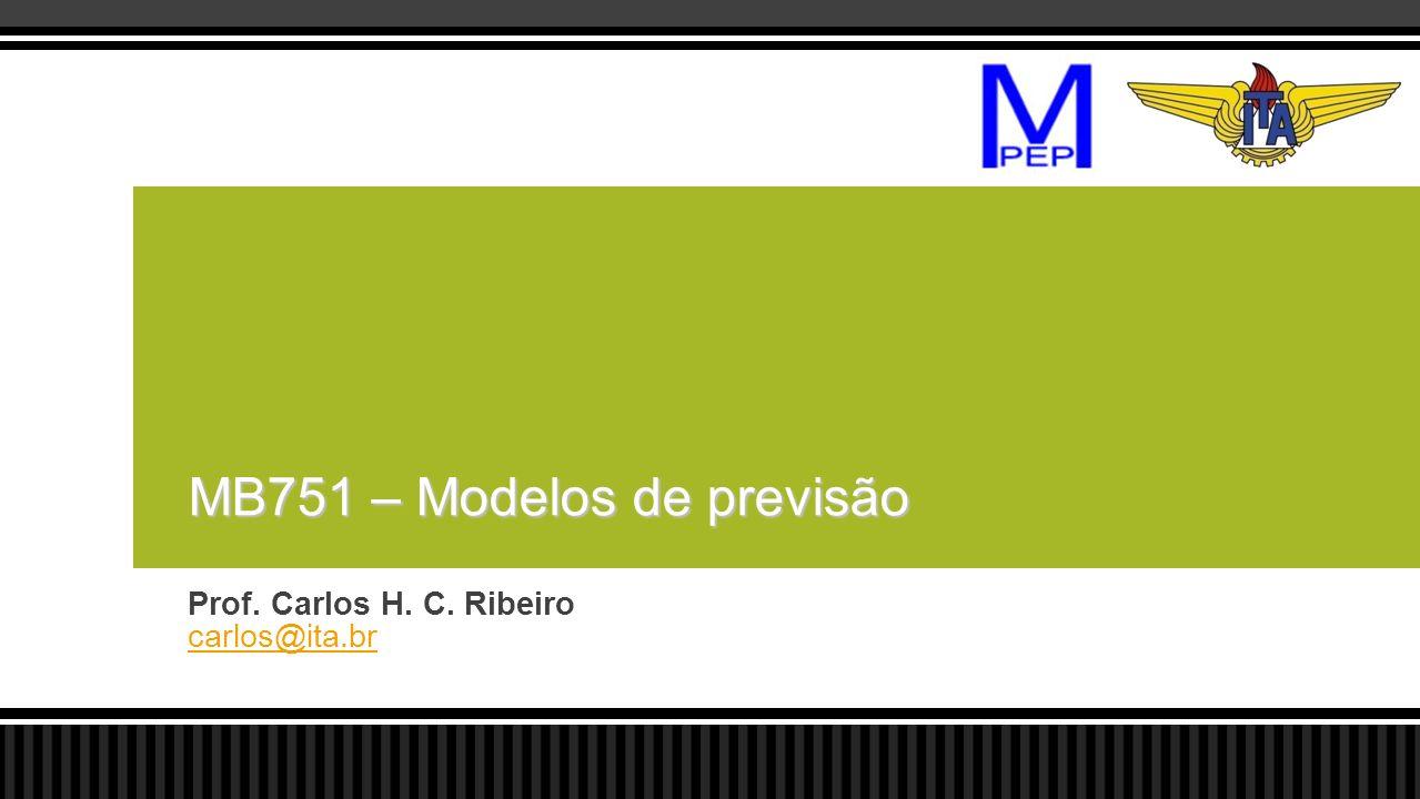 MB751 – Modelos de previsão