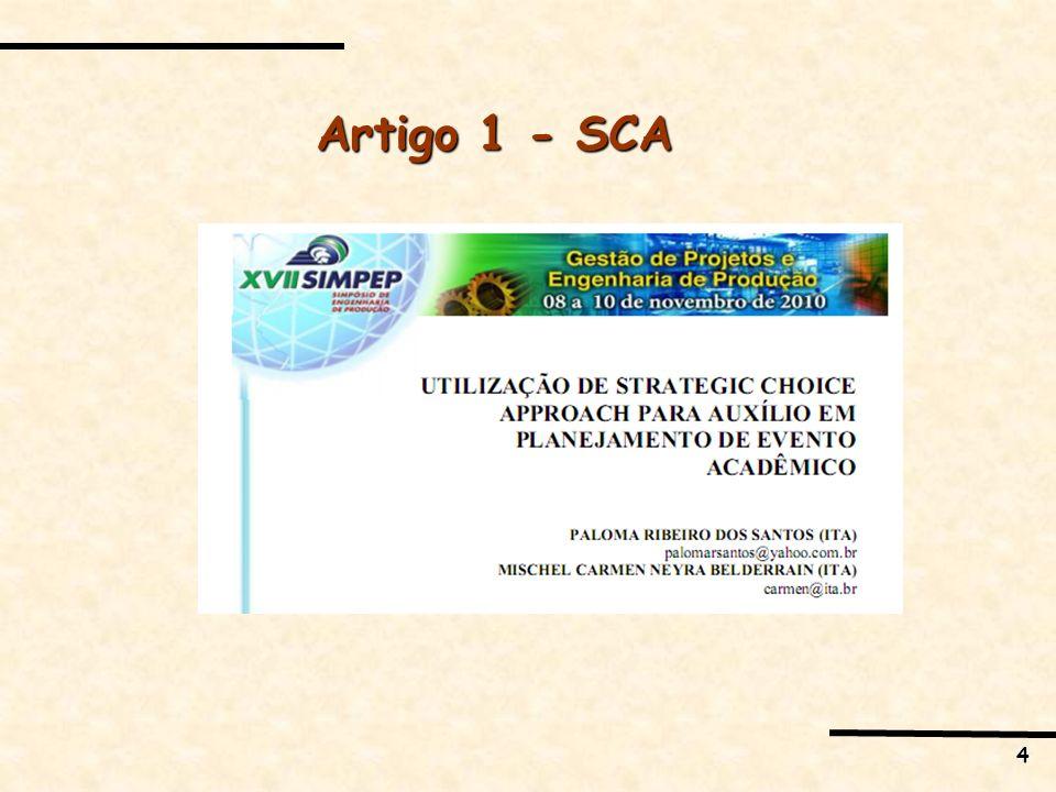 Artigo 1 - SCA